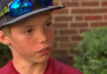 11 year old attacks burglar with machete feat